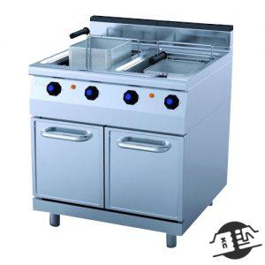 JEMI FRG70/2 Gas Friteuse