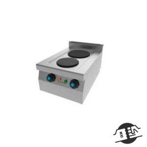 JEMI S602E Elektrisch fornuis 2 pits