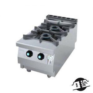 JEMI S721 Gas kookkomfoor 2-pits (opzet)