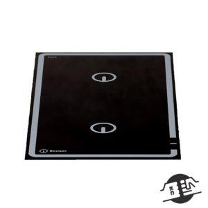 Berner BI2EGFF10 Inductie kookplaat 2 x 5 kW