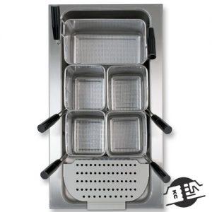 Berner BKEA1/1 Inbouw pastacooker 1/1 GN