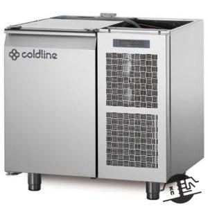 Coldline TS09/1B Vrieswerkbank 1-deurs, zonder bovenblad