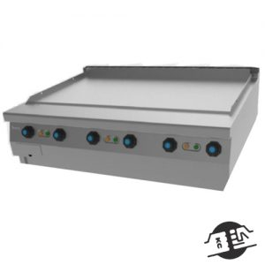 JEMI SFRTE120 P121 / P122VT Bakplaat opzetmodel (hardverchroomd)