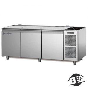Coldline TZS17/1M Pizza koelwerkbank (zonder bovenblad)