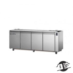 Coldline TS21/1MR 4-deurs koelwerkbank zonder blad (remote)