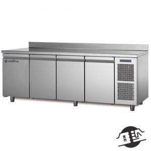 Coldline TS21/1ME 4 deurs koelwerkbank zonder blad