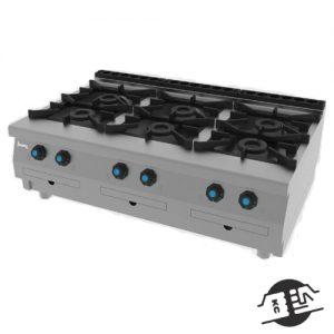JEMI S761 Gasfornuis 6-pits (opzet)