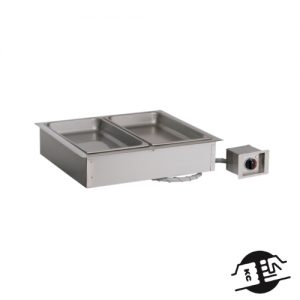 Alto-Shaam 200-HW/D6 Drop-in droog bain marie 2x 1/1 GN