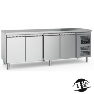 KitchenMate-E 4-deurs Koelwerkbank