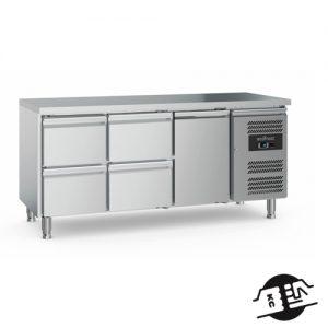 KitchenMate-E 3-deurs Koelwerkbank