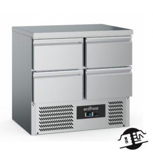 KitchenMate-E 2-deurs Koelwerkbank