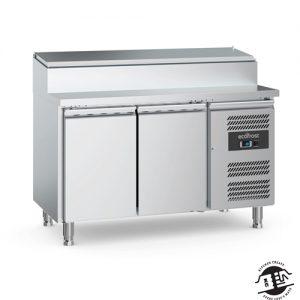 KitchenMate-E Saladette 2-deurs met RVS deksel