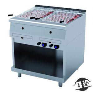 JEMI PLG70/2 Gas Lava grill