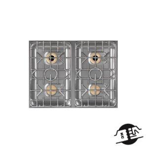 Berner BEG4S70 Drop-in gasfornuis 4-pits